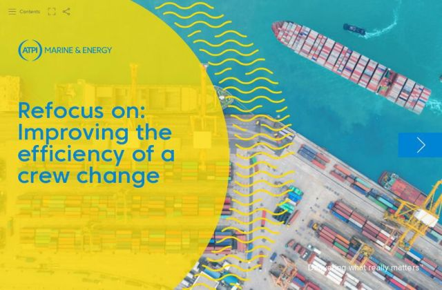 Refocus on: Improving the efficiency of a crew change