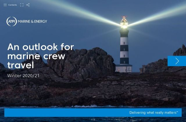 An outlook for marine crew travel – Winter 2020/21