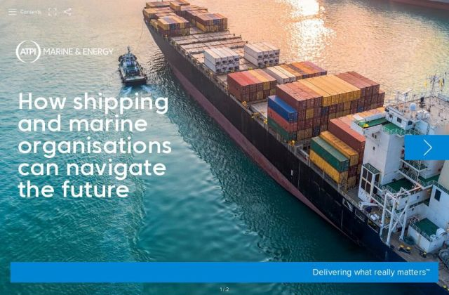 ATPI Marine and Energy how Shipping and Marine organisations can navigate the future