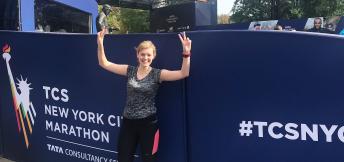 Eerste keer New York Marathon - Josianne Zwart