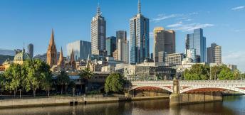 Op zakenreis naar Melbourne