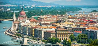 Zakenreis naar Budapest